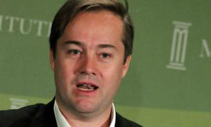 Jason Calacanis, founder and chief executive officer of Mahalo.com (which is now Inside), speaks during the Milken Institute Global Conference 2009 in Los Angeles in 2009.