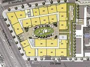 PROPOSED: 3706 San Pablo Ave.  EAH Housing is proposing 86 affordable apartments. With 7,000 square feet of commercial space. Units in the $41 million project range from one to four bedrooms.