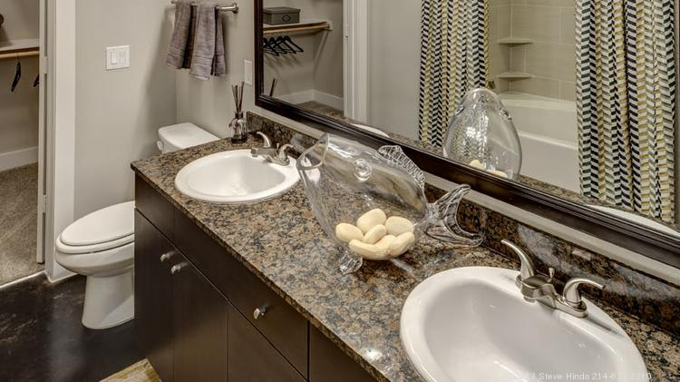 The Alexan Urban Center features high-end finishes, such as granite countertops. The luxury finishes help bring in the young professional demographic.