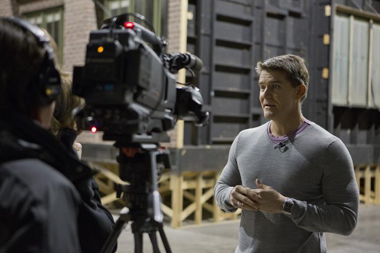 For nearly a decade DePaul University professor Matthew Irvine has been trying  to get a soundstage space for his film students to work on as they learn the filmmaking business.