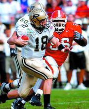 In 2004, Purdue University and the University of Georgia clashed in a high-scoring game at the Capital One Bowl. The Georgia Bulldogs left the field with a 34-27 victory.