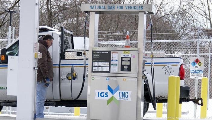 Compressed Natural Gas Fueling Stations Ohio