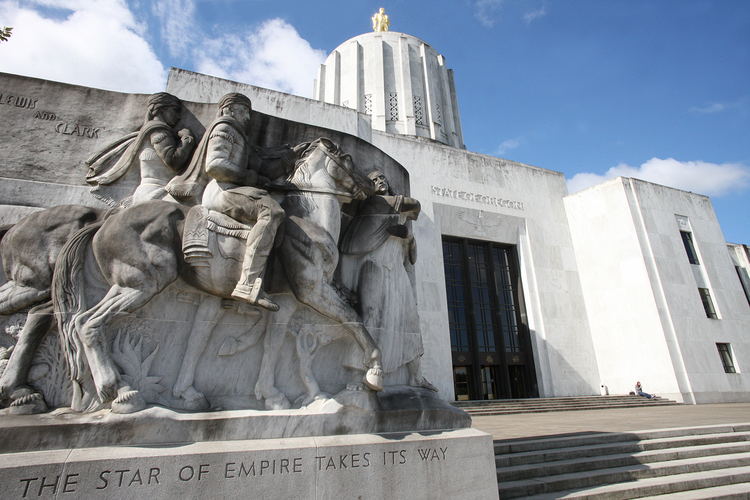 Oregon's off-year legislative session runs from Feb. 3 to March 8.