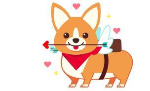 The ArtCorgi backstory is a sweet as this corgi.