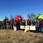 Monsanto protesters must stay off median on Olive