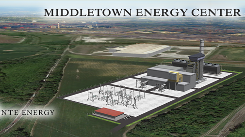 NTE Energy plans a $500 million natural gas power plant in Middletown that will bring up to 400 jobs for the three-year construction phase and up to 30 permanent. Groundbreaking is expected in 2015 and operation to begin in 2018.