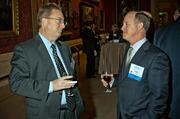 Winter Wyman's Dave Sanford and Bob Boudreau at the MFA's Koch Gallery during the Boston Business Journal's Book of Lists 2014 Gala.