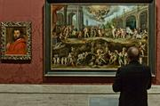 Someone actually took time to look at the art at the MFA's Koch Gallery during the Boston Business Journal's Book of Lists 2014 Gala.