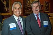 Frank Longobardi of Cohn Reznick and Gregory Hart of Ercolini & Company at the MFA's Koch Gallery during the Boston Business Journal's Book of Lists 2014 Gala.