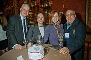 From left: the Seaport Hotel & Seaport World Trade Center's Jim Carmody and Marianna Accomando with Kaye and Michael Barsamian of The Belgrade Group at the MFA's Koch Gallery during the Boston Business Journal's Book of Lists 2014 Gala.