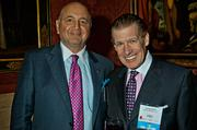 Rich Caturano of McGlandry with Jamie O'Neil of Impact Skill Sets at the MFA's Koch Gallery during the Boston Business Journal's Book of Lists 2014 Gala.