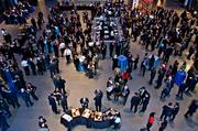Boston's business elite socialize and network at the MFA during the Boston Business Journal's Book of Lists 2014 Gala.
