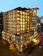 The Schuster Group's Joseph Arnold Lofts, shown here in a rendering, is under construction at 62 Cedar St. in Belltown, a block north of the planned Walton Lofts.