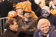 Brad Miller, pipe fitter/ maintenance tech in United States Steel Corp.'s 80-inch hot strip mill, on Wednesday afternoon at the event with President Barack Obama at the U.S. Steel Irvin Plant in West Mifflin.