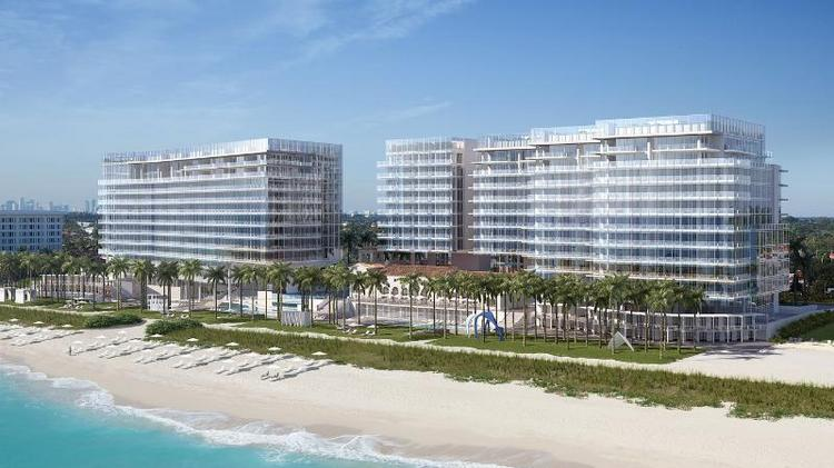 Four Seasons Hotel & Private Residences at The Surf Club, rendering by DBOX.