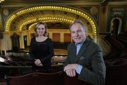Memorial Hall Society President Bill Baumann and Executive Director of Memorial Hall Teresa Summe-Haas are working to reintroduce the historic building to the community.