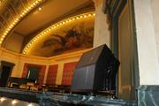 A new sound system was also installed in the theater.