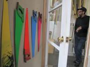 A plan for a West Philadelphia supermarket is headed for a showdown with one remaining property owner whose land is needed. That is artist James Dupree, whose converted a former car repair garage into a studio. Dupree has five paintings in the collection of the Philadelphia Museum of Art, which he can see from the street in front of his house.