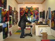Just one of a half-dozen studios that artist James Dupree uses at a 9,000-square-foot site in the Mantua section of Philadelphia.