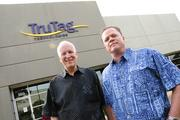 TruTag Technologies  Chief Technology Offer and President Michael O'Neill outside the company's new Kapolei facility.