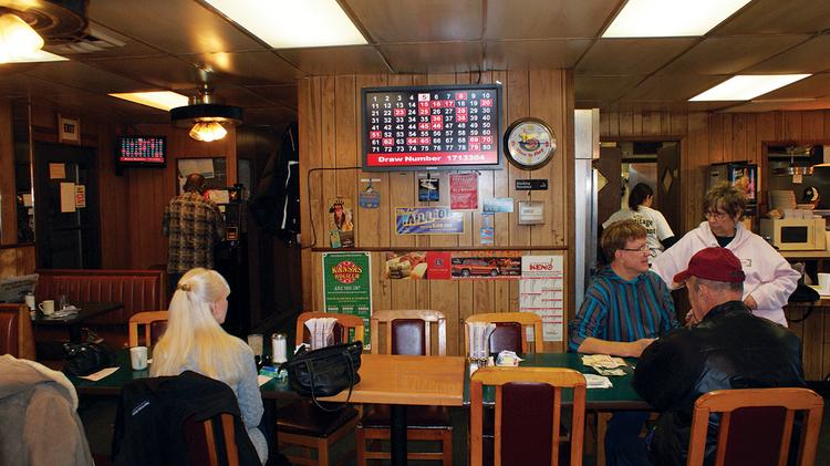 The Heritage Restaurant in Wichita was the top Kansas Lottery retailer in the state in 2012.
