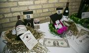 A silent auction helped raise money at the event.