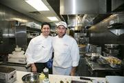 Aprahamian and Joey Safina, head chef at Tutto