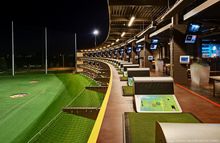 TopGolf is planning a facility like this one for Gilbert, complete with climate controlled hitting bays.