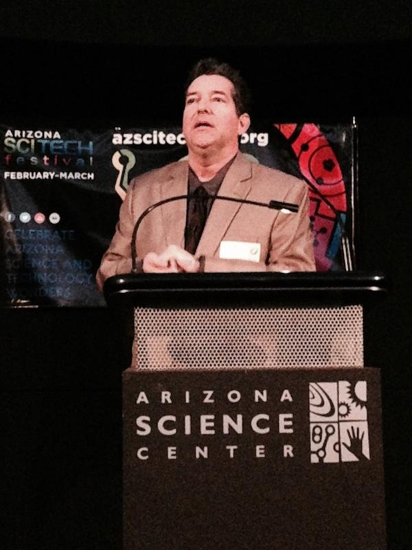 Geoff Notkin, the former co-host of Discovery Channel's Meteorite Men, is now in his second season hosting the STEM Journals, a locally-filmed show aired on Cox Cable.