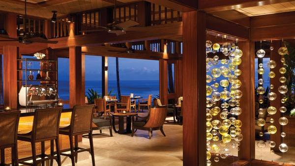 Ulu Ocean Grill At The Four Seasons Resort Hualalai On Island Was One Of