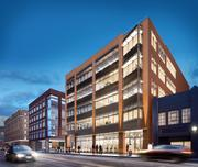 A rendering of 345 Brannan St., which Dropbox will occupy once it's finished in 2015.