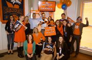 "Linhart Public Relations, Denver, www.linhartpr.com -- ""With several Colorado natives and life-long Bronco fans in the office, Linhart Public Relations is United in Orange! Our culture task force, Pizzazz, is masterminding decorations and ... Broncos-themed activities including, spirit days, orange treats, an office pool and a Friday afternoon tailgate that wouldn't be complete without the destruction of a Seattle Seahawks pinata (it's only weird if it doesn't work, right?)."" -- Courtney Brunkow"
