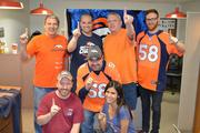 "Global Gate Controls, Englewood, www.globalgatecontrols.com -- ""Here is a photo of some of our team members wearing Denver Bronco gear. In support of the Broncos, one of our team members has been wearing Bronco gear from head to toe every day since [the AFC Championship game] and will continue to wear Bronco clothing until the Super Bowl."" -- Carolee Rojas, Marketing Assistant"