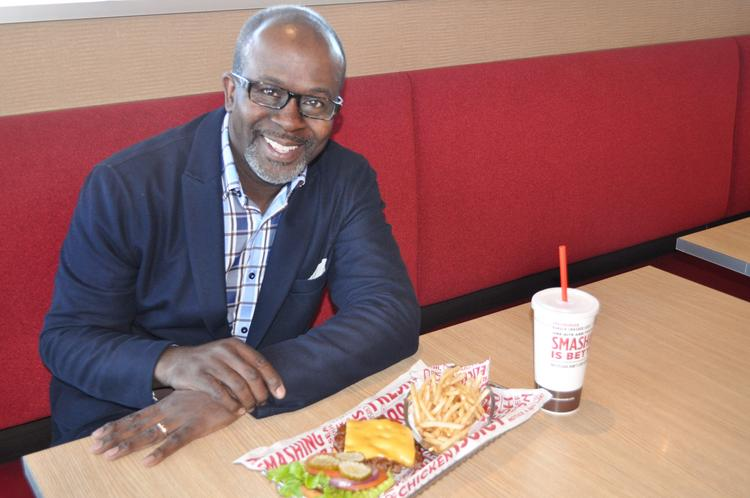 Wellesley Broomfield wants to open the first of 12 local Smashburger restaurants this year.