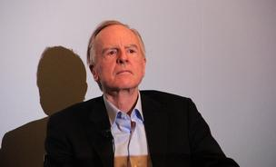 John Sculley, co-founder of Zeta Interactive at the Bryant Park Hotel in New York City on January 30, 2014.