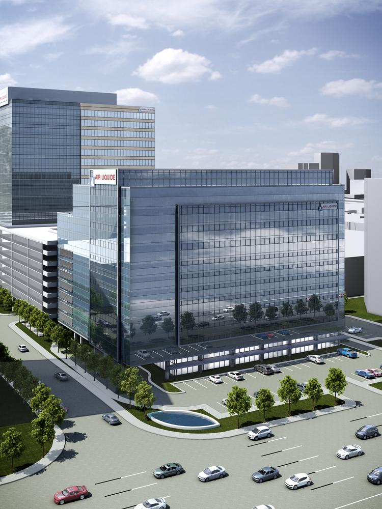 Air Liquide Center in Memorial City will be completed in Nov. 2015.