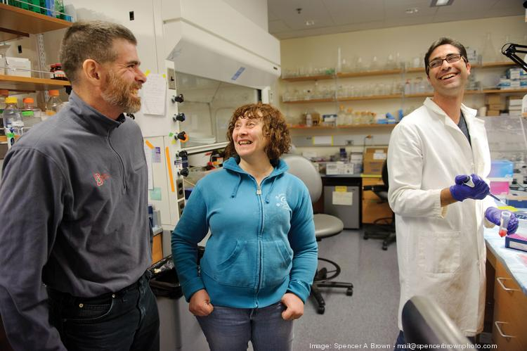 It all comes down to one molecule, says Irina Conboy, with husband Mike (left) and Christian Elabd.