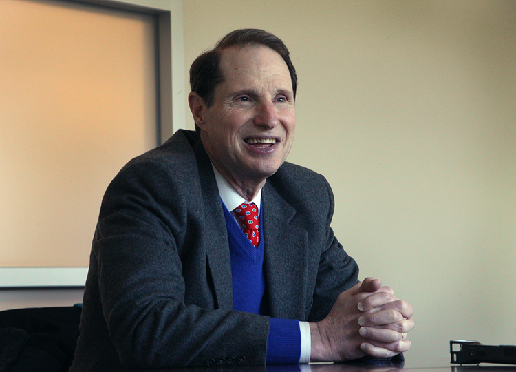 """U.S. Sen. Ron Wyden, D-Oregon, wants to reform Medicare to get away from """"fee for service"""" for chronic care."""