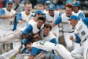 Archbishop Moeller High School won its second straight Division I state baseball championship in June 2013. It was the school's seventh baseball championship.