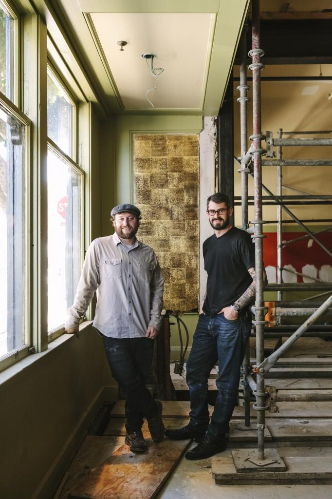 Teague Moriarty and Matt McNamara, chefs and owners of Michelin-starred restaurants Sons and Daughters and Sweet Woodruff, are opening The Square in North Beach.