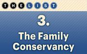 No. 3 The Family Conservancy  United Way funding: $897,123 Location: Kansas City, Kan. For more information, check out the 2014 top United Way recipients available to KCBJ subscribers.