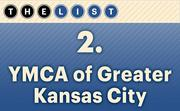 No. 2 YMCA of Greater Kansas City  United Way funding: $1,020,164 Location: Kansas City For more information, check out the 2014 top United Way recipients available to KCBJ subscribers.