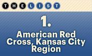 No. 1 American Red Cross, Kansas City Region  United Way funding: $1,198,562 Location: Kansas City For more information, check out the 2014 top United Way recipients available to KCBJ subscribers.