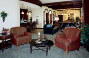 Rosen Shingle Creek Everglades suite: Features a pool table in center of the room, with beautiful hand-carved wood ceiling above