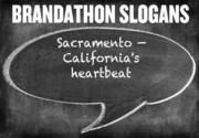 Can you see this as Sacramento's new slogan? Sacramento — California's heartbeat