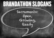 Can you see this as Sacramento's new slogan? Sacramento: Open, Growing, Ready