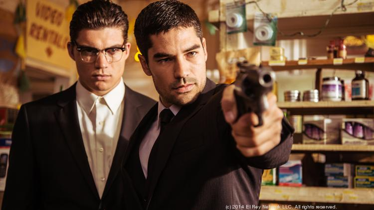 "D.J. Cotrona stars as Seth Gecko, left, and Zane Holtz appears as Richie Gecko in the El Rey Network Original ""From Dusk Till Dawn: The Series."""