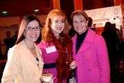 Arlene Martinez and Brittany Gruber of B-AG Contract with Jennifer Pelloni of Knoll Inc.