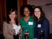 Bridget Riley of Arthur J Gallagher & Co. with Wendy Gustamo and Danielle Jimenez of Costa Communications Group