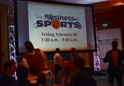 And speaking of events, mark your calendar for Business of Sports on Feb. 28.